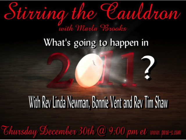 Bonnie Vent interview on Stirring the Cauldron 12/30/10