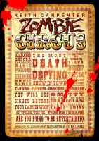Zombie Circus Novel available now everywhere