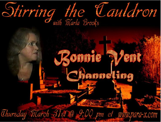 Bonnie Vent guest appearance on Stirring the Caudron with Marla Brooks