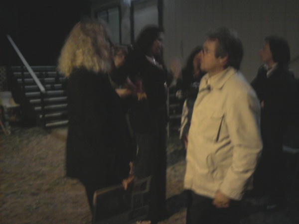 Davy Jones of The Monkees and Bonnie Vent in San Diego in 2008