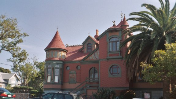 Villa Montezuma in San Diego, CA.  Originally owned by Jesse Shepard/Francis Grierson