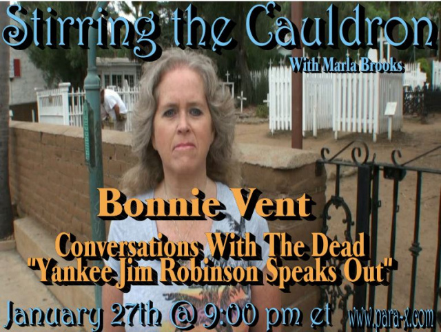 Bonnie Vent guest appearance on Stirring the Cauldron