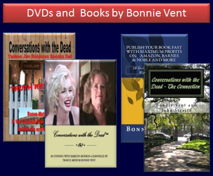 DVDs and Books by Medium Bonnie Vent