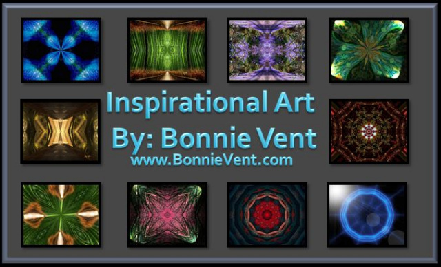 Bonnie Vent Inspirational Art pieces