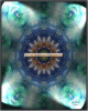 Green Lit Pools spiritual art/mandala